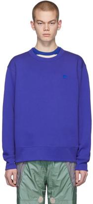 Acne Studios Blue Fairview Patch Sweatshirt