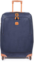 Bric's Life Trolley Suitcase - Blue/Tan - 74cm