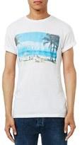 Topman Men's Dream Graphic Crewneck T-Shirt