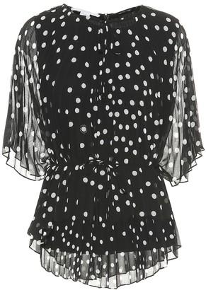 Stella McCartney Polka-dot crApe de chine blouse