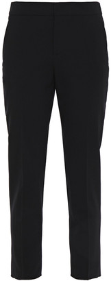 RED Valentino Cropped Stretch-wool Tapered Pants