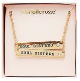 Charlotte Russe Soul Sisters Friendship Necklaces - 2 Pack