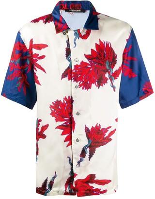 Roberto Cavalli Floral Print Shirt