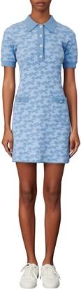 Maje Short Sleeve Knit Dress