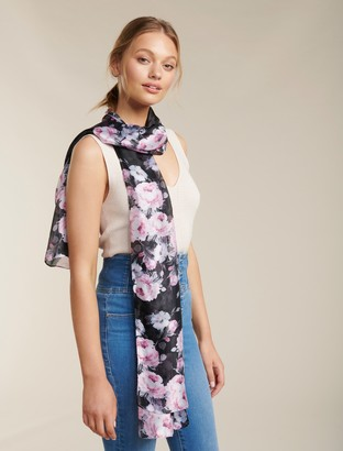 Ever New Dixie Floral Print Scarf