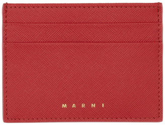 Marni Red Card Holder