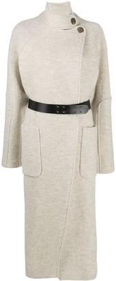 BA&SH Belted Wool Coat