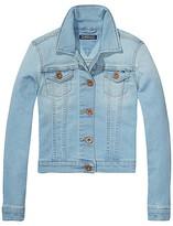 Tommy Hilfiger Final Sale-Th Kids Bleached Jean Jacket