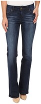 KUT from the Kloth Natalie High Rise Bootcut Jeans in Adaptive w/ Dark Stone Base Wash