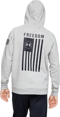 Under Armour Men's UA Freedom Flag Rival Hoodie