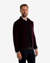 Drawn Wool Harrington Jacket