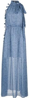 Sachin + Babi Josie leopard maxi dress