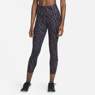 Nike Women's Icon Clash 7/8 Printed Leggings One