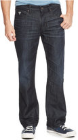 GUESS Men's Relaxed Riverfront-Wash Jeans