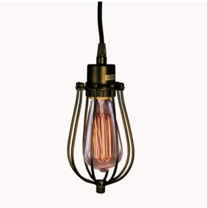 "Home Accessories Priscilla 6"" 1-Light Indoor Pendant Lamp with Light Kit"