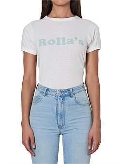 ROLLA'S Rollas Big Logo Tee