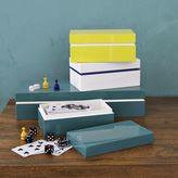 west elm Colored Stripe Lacquer Boxes