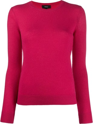 Theory Slim Fit Crew Neck Jumper