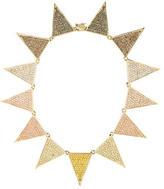 Eddie Borgo Pavé Triangle Necklace