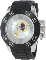 Game Time Men's NFL-BEA-WAS Beast Round Analog Watch