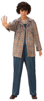 BuySeasons Women Stranger Things Eleven Plaid Adult Shirt