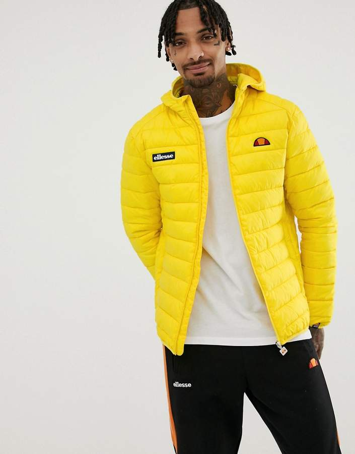 ca72176d Lombardy padded jacket in yellow