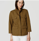 LOFT Tall Linen Cotton Cargo Jacket