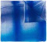Faliero Sarti spray paint print scarf