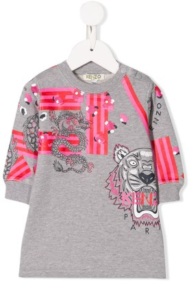 Kenzo Kids Sweater Dress