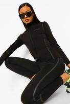 Thumbnail for your product : boohoo Tonal Reflective Running Jacket