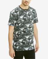 Kenneth Cole Reaction Men's Big Palm Printed Henley