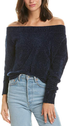 Three Dots Off-The-Shoulder Sweater