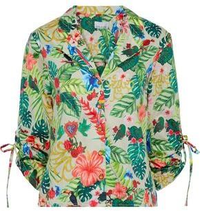 Miguelina Printed Cotton Shirt