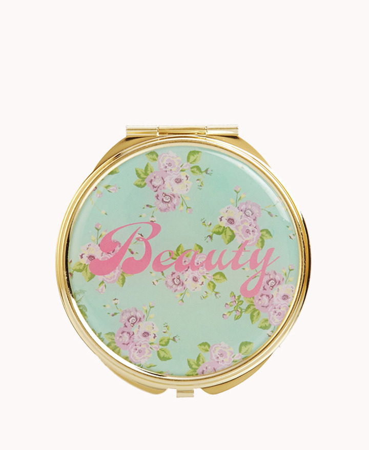 Forever 21 Beauty Floral Mirror Compact