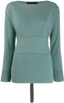 Fabiana Filippi long sleeved knit top