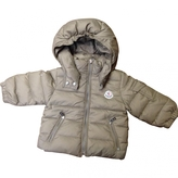 Moncler Beige Jacket coat