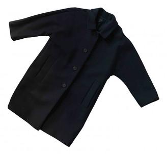 Cos Navy Wool Coats