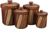 Asstd National Brand Sango Avanti 4-pc. Canister Set