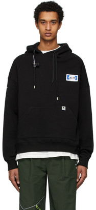 Black Rivet ADER error Label Hoodie