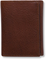 Tasso Elba Dakota Italian Leather Trifold Wallet