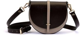 Atelier Hiva Mini Arcus Leather Bag Chocolate & Sand