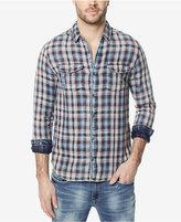 Buffalo David Bitton Men's Sawitan Plaid Elbow-Patch Shirt
