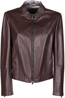 Brunello Cucinelli Leather Jacket