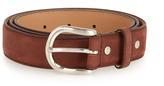 A.P.C. Hans brushed-leather belt