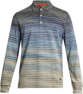 Missoni Long-sleeved striped polo shirt