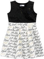 Epic Threads Glitter Fit and Flare Dress, Little Girls (4-6X), Created for Macy's