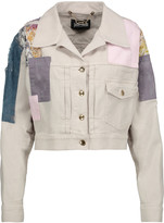 Just Cavalli Patchwork denim jacket