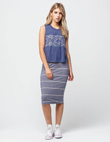 Roxy Wind Chimes Midi Skirt