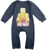 IEEIPQG33E Ant Man Movie Romper,6-24 Month Toddler Onesie,infant Bodysuit Long Sleeve 6 M