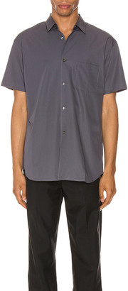 Comme Des Garcons SHIRT Forever Short Sleeve Shirt in Grey | FWRD